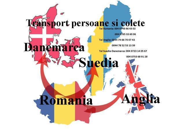 Transport persoane/colete Danemarca Suedia - 1/1
