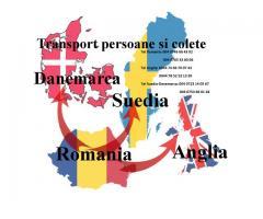 Transport persoane/colete Danemarca Suedia