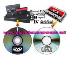 Montaj video,copieri casete,transcodari NTSC/PAL