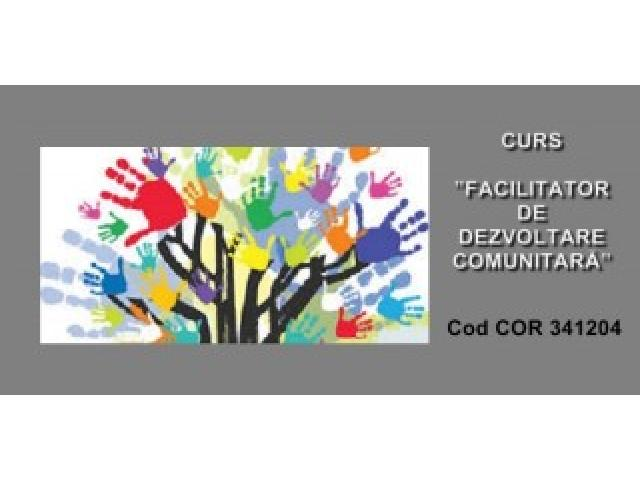 Curs FACILITATOR DEZVOTARE COMUNITARA - autorizat ANC - 4/4