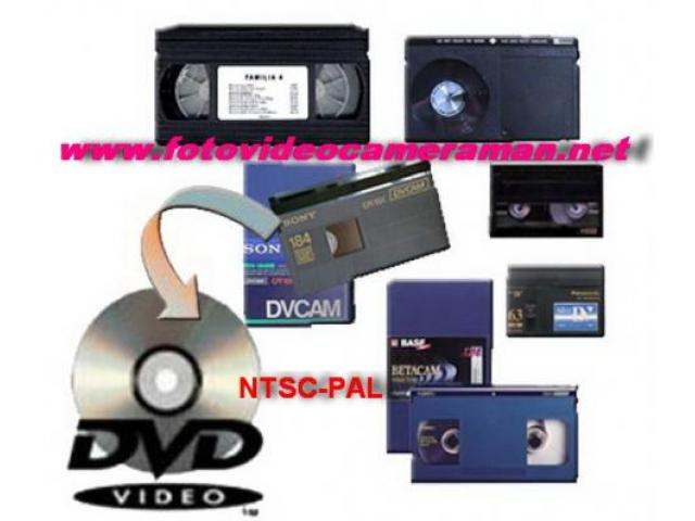 MONTAJ VIDEO, COPIERI CASETE, TRANSCODARI NTSC/PAL - 1/2