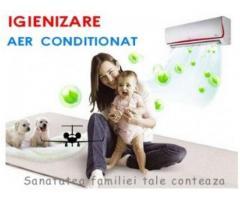 Igienizare aer conditionat-curatare