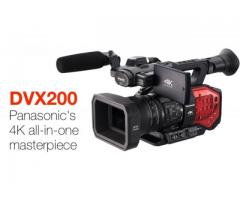 Sony NX100/ Z150, Panasonic AC90/ DVX200