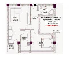 Apartament 2 camere, mutare imediata, bloc nou,Tatarasi