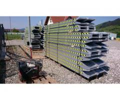 Rampe aluminiu utilaje/auto/moto