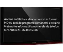 ANTENE SATELIT si digital terestre