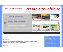 Creare site ieftin, creare site, creare magazin online,