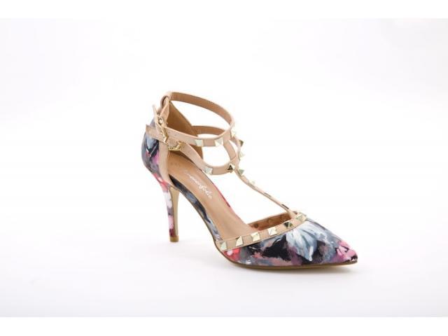Pantofi dama Monza negrii - 1/1