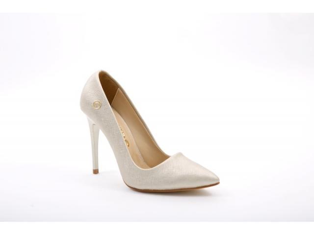 Pantofi dama Spezia argintii - 1/1