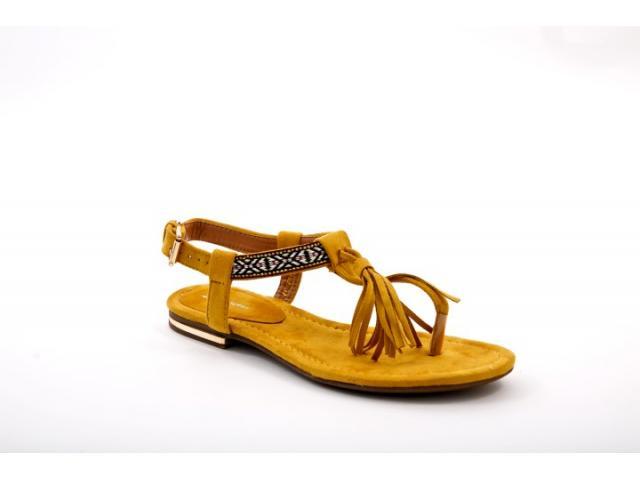 Sandale dama Croix galbene - 1/1