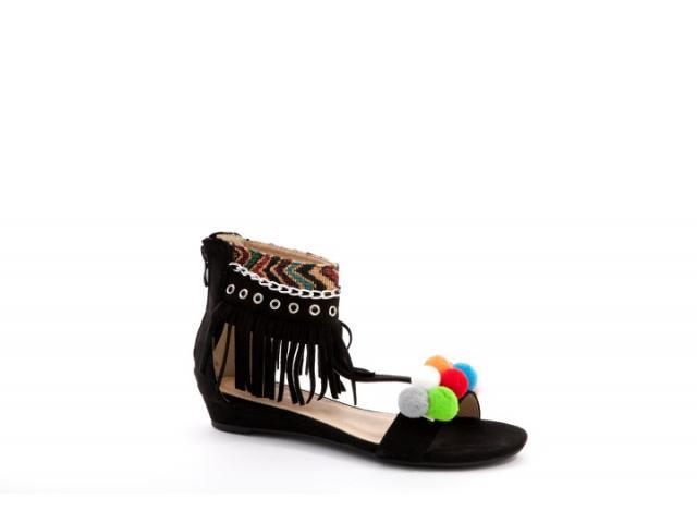 Sandale dama Bilbo negre - 1/1