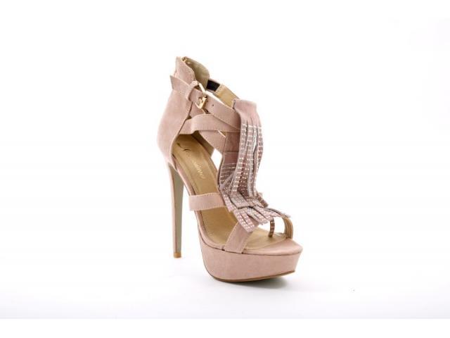 Sandale dama Vera bej - 1/1
