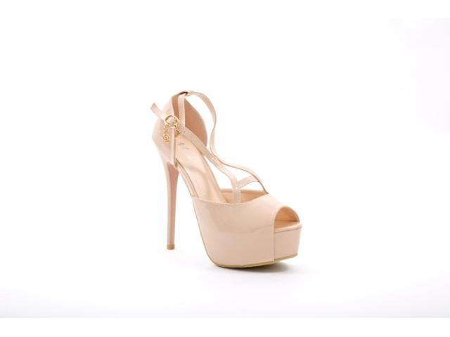 Sandale dama Mazil nude - 1/1