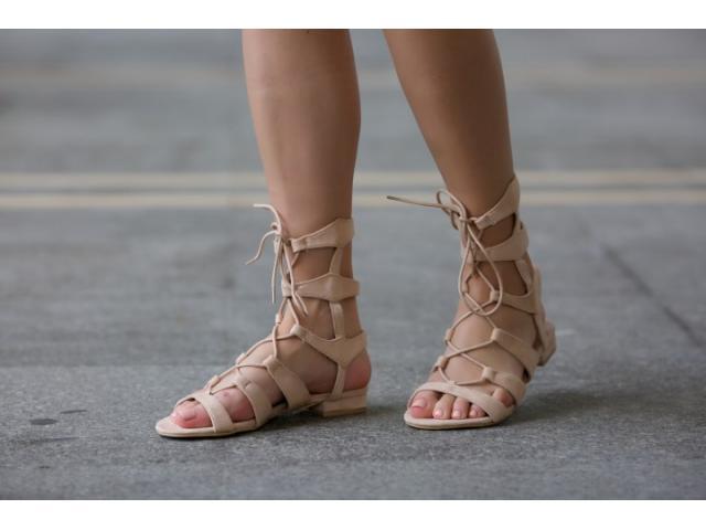 Sandale dama Catania bej - 1/1