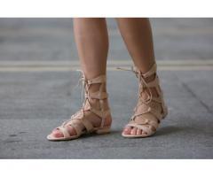 Sandale dama Catania bej