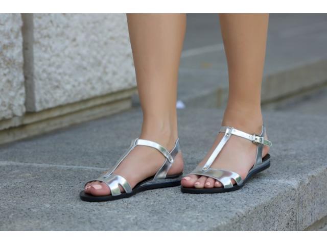 Sandale dama Rafina silver - 1/1