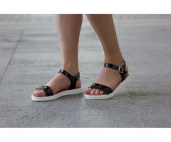 Sandale dama Rona negre