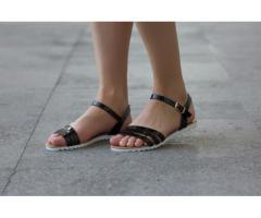 Sandale dama Preston negre