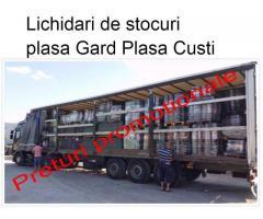 Plasa gard Lichidari stocuri