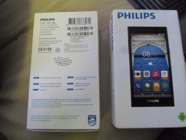 Philips S396 8GB Dual Sim 4G Black - 1/1