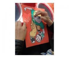 Planse Pictura cu Nisip Colorat