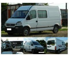 Opel Movano 2.5 CDTI 3.5T 84 kw 6 locuri + marfa