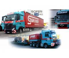 Sofer (Soferi) de camion Gruber Logistic 2000 - 2200 E