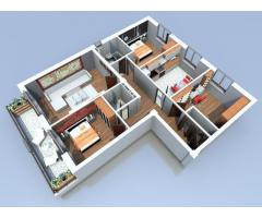 Apartament 4 camere, imobil nou, Sebes