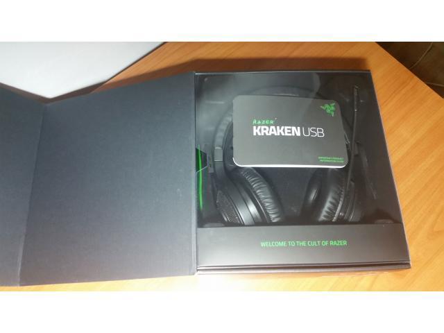 Razer KRAKEN USB - 7.1 surround - 4/5