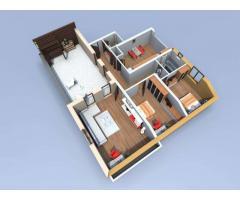 Apartament 3 camere, imobil nou, Sebes