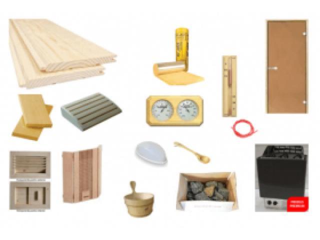 Kit DIY sauna finlandeza Waincris Saune BASIC1 - 1/1