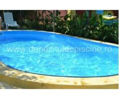 Set  piscina Hobby Pool din otel  600x320x150 cm