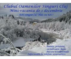 Vacanta 1 decembrie la munte.