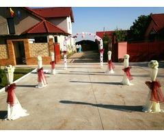 Inchiriere stalpisori pentru nunta, botez