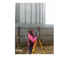 Intabulare, trasare teren - lucrari de topogafie