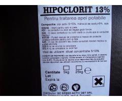 hipoclorit de sodiu 13%