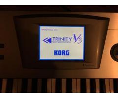 Vand Korg Trinity V3 stare impecabila!!!