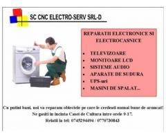 Reparatii electronicee si electrocasnice