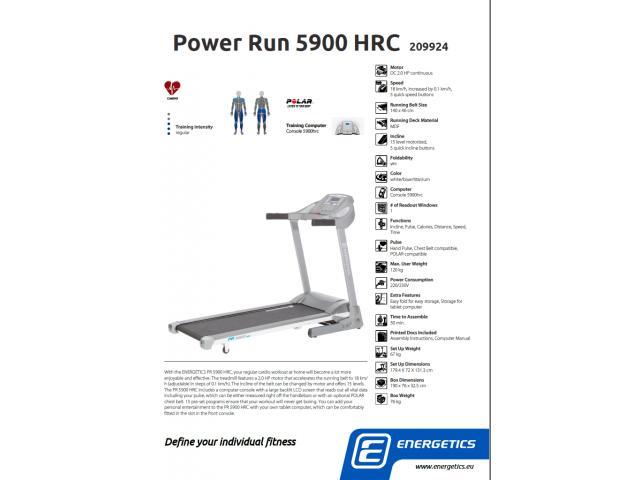 Banda de alergat Energetics PR 5900 HRC - 5/5