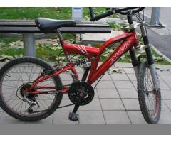 Vand urgent bicicleta rosie