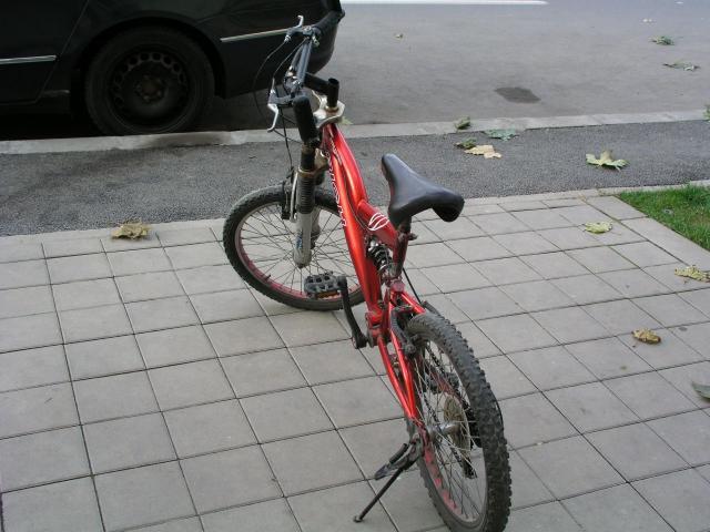 Vand urgent bicicleta rosie - 4/5