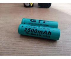 Lanterna bicicleta LED CREE Q5 si 2 acumulatori 2500mAH - Poza 4/5