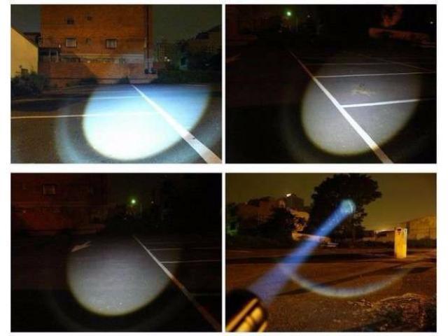 Lanterna bicicleta LED CREE Q5 si 2 acumulatori 2500mAH - 5/5