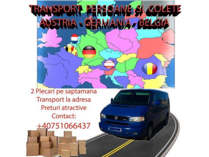 Transport persoane si colete Munchen - 1/1