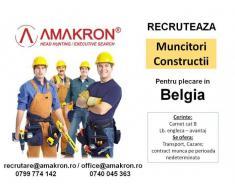 Muncitori in Constructii plecare in Belgia