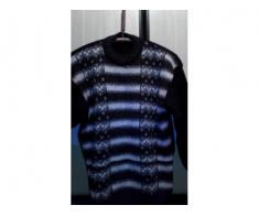Vand pulover barbatesc  TRICOTAT din Lana,NOU