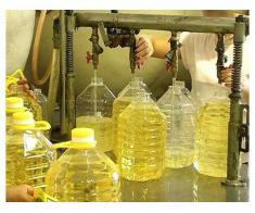 Ulei de floarea-soarelui rafinat, ulei de porumb