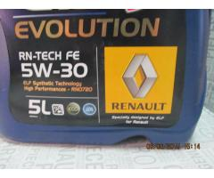 ULEI Motor 5W30 DPF ORIGINAL Renault RN0720 7711584318