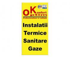 Instalator termic si gaze