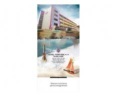 Cazare avantajoasa 88 lei camera/ zi la Hotelul Fortuna